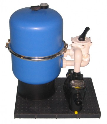 Filteranlage Hawaii 400mmØ, Pumpe Speck Bettar/Top 8m³/h für Pools bis 40m³