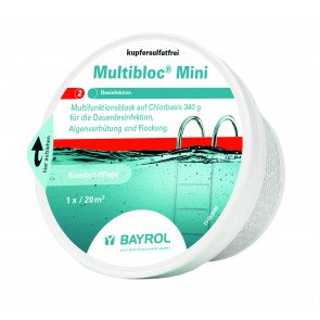 Bayrol Multibloc Mini 3 Funktionen in einer Dose 340gr