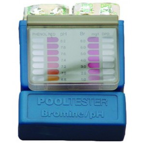 Pooltester-Box Brom (DPD 1) und pH (Phenolred)